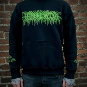 Hyperdontia - Fevered Devotional Ecstasy (Green Logo) Hoodie