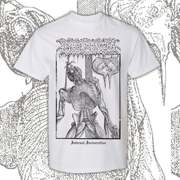 Hyperdontia - Internal Incineration (White) T-Shirt